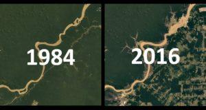Как изменились земные города за тридцать лет