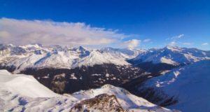 Анимированная история альпийских ледников