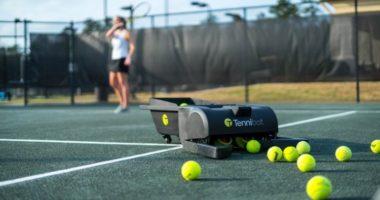 Tennibot: автономный робот для сбора теннисных мячей