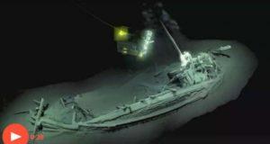 На дне Черного моря обнаружен самый древний корабль