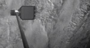 Тест гарпуна для сбора космического мусора: видео