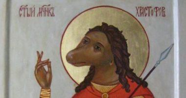 Почему святой Христофор изображался в столь странном обличье?
