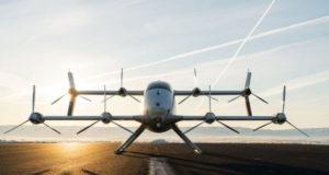 Беспилотное аэротакси Airbus в полете: видео