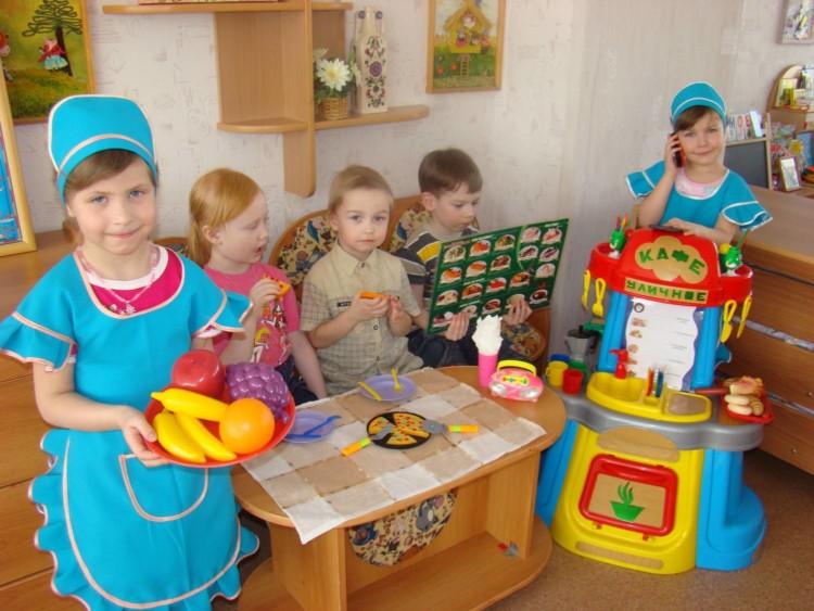 Сюжетные игры в жизни детей старших дошкольников