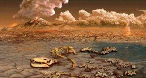 В пермском вымирании обвинены галогены