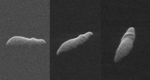 К Земле приближается странный, похожий на бегемота, астероид