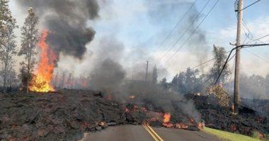 NASA опубликовало съемку извергающегося вулкана Килауэа на Гавайях
