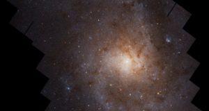Галактика Треугольника: потрясающая фотография от «Хаббла»