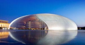 Стеклянный кирпич: архитектура наших дней