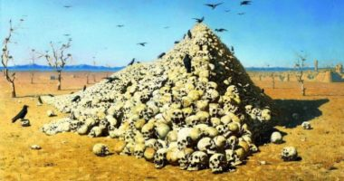 Как художник Василий Верещагин показал суть любой войны?