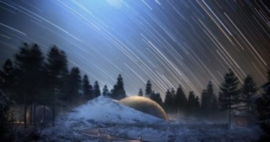 Новый проект Snøhetta: планетарий, окруженный домиками-«планетами»