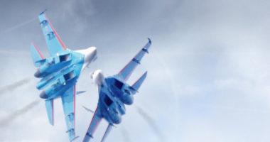 Командир пилотажной группы «Русские витязи» Сергей Щеглов о своей профессии
