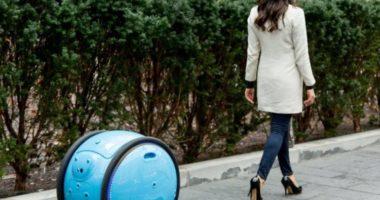 Gita: робот-чемодан от производителя мотороллеров Vespa