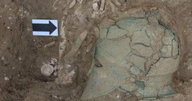 Археологи нашли шлем богини Афины в Краснодарском крае