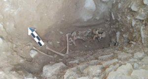 В Италии найдена могила заколдованного ребенка