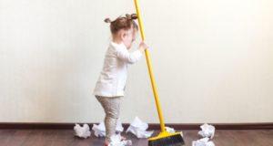 Как приучить детей к порядку?