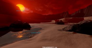 Виртуальные экскурсии по экзопланетам от NASA