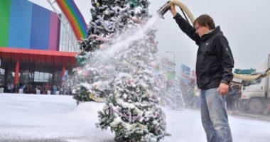 Чем в фильмах заменяют снег?