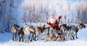 Как Санта-Клаус обзавёлся оленями?