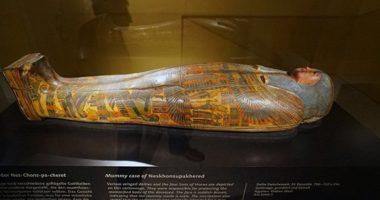 На коже египетской мумии нашли сложные татуировки