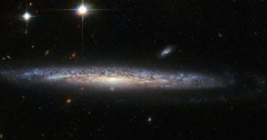 Удивительный снимок спиральной галактики NGC 5714