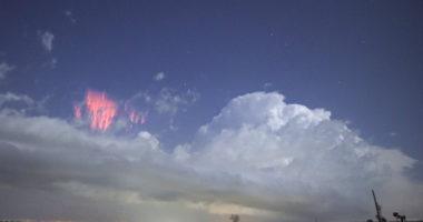 Спрайты в небе над Оклахомой: удивительные фотографии