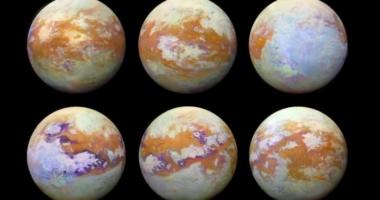 Загадочный спутник Сатурна — Титан: новые изображения
