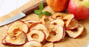 Как приготовить фруктовые чипсы?