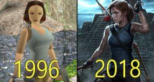 Эволюция игр Tomb Raider: видео