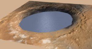 На Марсе найдены следы наводнений