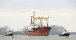 Как провожают пароходы?