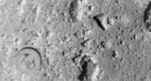 Сброс пенетратора на поверхность астероида Рюгу: видео