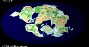 Как дрейфуют континенты