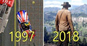Как эволюционировали игры Rockstar: видео