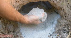 Как сделать бетон из того, что можно найти в лесу