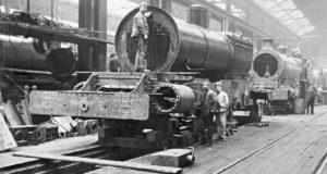 Как строили паровозы век назад