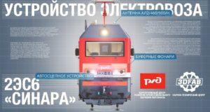 Как устроен современный российский электровоз