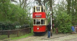 Как выглядит двухэтажный трамвай