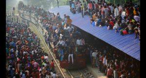 Как выглядит пассажирский поезд в Бангладеш