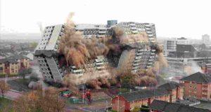 Как взрывают дома