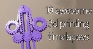 Многообразие 3D-печати: залипательное видео