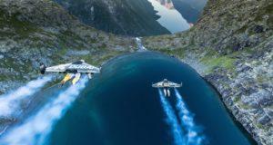 На реактивных ранцах по норвежским фьордам: свободный полет