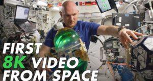 Первое видео из космоса в разрешении 8K