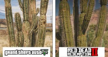 Red Dead Redemption 2 против GTA V: сравнение графики