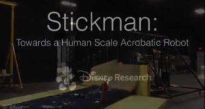 Робот от Disney, способный делать сальто-мортале в воздухе