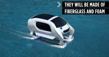 Самые необычные проекты транспорта будущего