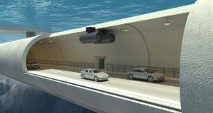 Самый длинный подводный тоннель. Да еще и плавающий!