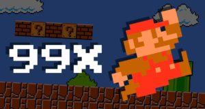 Super Mario Bros превратили в Баттл Рояль: королевская битва