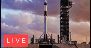 Трансляция: запуск Crew Dragon к МКС