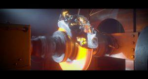 Зрелищные испытания суппорта Bugatti, созданного на 3D-принтере